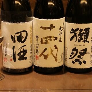 250種毎日変わるこだわりの日本酒ラインナップ!蔵元直送あり