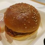 ブーランジェリー アサノヤ / グリパン - ランチAセット:クラシック・バーガー サラダ、ポテト付き2