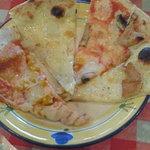 ヴィーヴォリ - ランチ 食べ放題のピザ