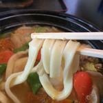 七福 - 厚みあるきしめんの様なほうとう麺です!