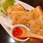 カフェアンドバー とまり木 ひなた - タイ風海老トースト