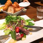 Mezonkaizakafe - サラダプレート