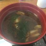 ふじ波 - 味噌汁