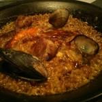 PEP spanish bar - 海鮮パエリア