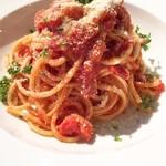 肉とワインのイタリアンバル ポリマエ - アマトリチャーナ