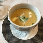 レストラン・フォレスト - 安納芋のスープ