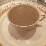 シャポン・ファン - 有機ブラウンマッシュルームのスープ