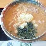 お食事 風の寄り道 - 味噌ラーメン(2017/1/16)