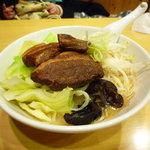 ごちそう麺九十九 - 角煮ラーメン