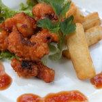 クイーンシーバ エチオピアレストラン - タコのピリ辛揚げ