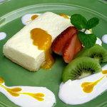 クイーンシーバ エチオピアレストラン - マンゴーレアチーズ