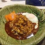 spice32 祇園店 - スパイスカレー・温玉チーズトッピング