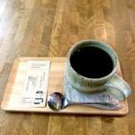 Moe's cafe Peace - ドリンク写真:コーヒー|萌オリジナルブレンド「&FLOWER」|苦味の強い「2004ブレンド」|オーガニックコーヒー|カフェインレスコーヒー