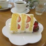 62464923 - いちごのケーキ