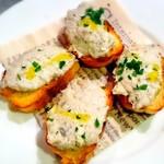 祥瑞 さっぽろ - サバとクリームチーズのパテ