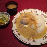 プチ・トリアノン - 料理写真:Aランチ:チキンのフランス風カレー