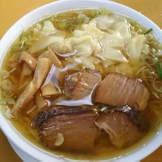支那ソバ へいきち - 料理写真:まのけ(ワンタンメン)従来麺900円