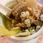 古都台南担々麺 - 四神湯の具
