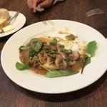 レストラン伊せや - 鮮魚のエシャロットソース