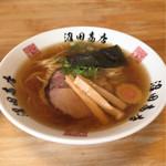 麺組 - 醤油らーめん 720円