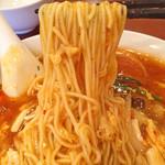 中華飯店 天津餃子房 - 「酢辛湯麺(サンラータン麺)」880円(麺)