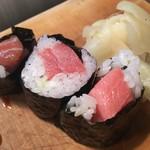 かわなみ鮨 - 大トロ巻き