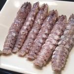 かわなみ鮨 - シャコ