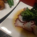 銀龍 - 生蛸酢