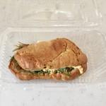 ラパン・スタイル・プラス - 牡蠣サンド、400円です。