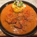 curry&cafe Warung - トリッパのカレー950円(税込)