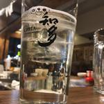 名古屋味噌 どて子 - 知多ハイボール 2017.2