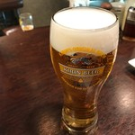 生ビールとたこ焼きのお店 佐藤 - 生ビール
