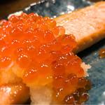 日本酒原価酒蔵 - 山盛りイクラのハラス