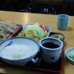 長野屋 - 料理写真:カキフライセットもり付950円