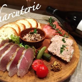 自家製シャルキュトリー(フランス惣菜)