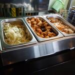 波平食堂 - 「定食」を選択すると食べ放題になります~