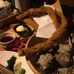 海風土 - 太刀魚トルネードフライ