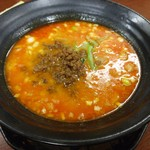 杏亭 - 汁あり坦々麺