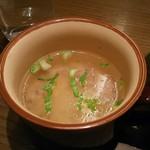 62483488 - 白菜と鶏ミンチのスープ