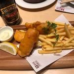 ヱビスバー - 真鯛のフィッシュ&チップス