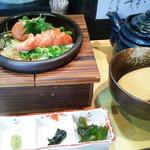 だよね。 - 「紀州梅と大葉のお茶漬け」(680円)