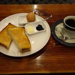珈琲亭 ちろる - 料理写真:モーニングサービス