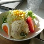 cafe 帆呂 horo - サラダ。あっぷ。