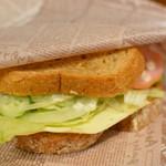 ドラゴンカフェ - サンドイッチ(ハム&チーズ)