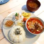 ブルームーン ダイナー - [週替]トマトの根菜煮込み定食