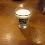 大阪焼肉・ホルモンふたご - 濃いヨーグルト、美味し♪