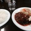 ハンバーグの店ベア - 料理写真:ハンバーグとカキフライの定食