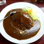 ハングリー味川 - ハンバーグカレー ¥750