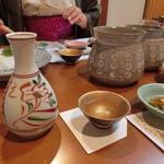 割烹 味香佐 - 〆張鶴一合800円