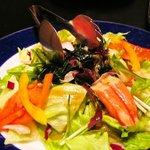 和創菜 月亭 - 海鮮サラダ「かにかま入り」